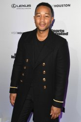 John Legend at the Sports Illustrated Swimsuit launch in New York