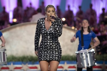 Lauren Alaina Performs at Capitol Fourth in Washington
