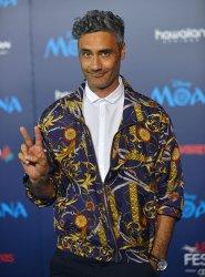 Taika Waititi attends 'Moana' world premiere