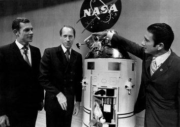 Apollo 15 astronauts