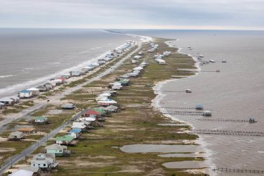 CBP Air and Marine Agents Survey Damage Caused by Hurricane Sally