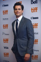 Matt Bomer attends 'Viper Club' premiere at Toronto Film Festival 2018