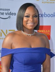 Naturi Naughton attends the 50th NAACP Image Awards in Los Angeles