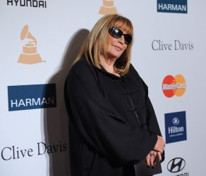 Penny Marshall attends the annual Clive Davis pre-Grammy party in Beverly Hills