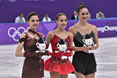 Ladies Figure Skating Free Skating Finals at the Pyeongchang 2018 Winter Olympics