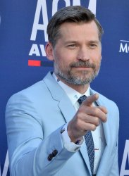 Nikolaj Coster-Waldau attends the Academy of Country Music Awards in Las Vegas