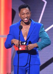 Jacob Latimore onstage at BET Awards in Los Angeles
