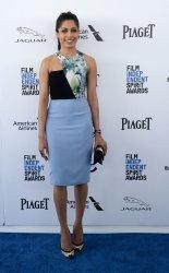 Freida Pinto attends the 31st annual Film Independent Spirit Awards in Santa Monica, California