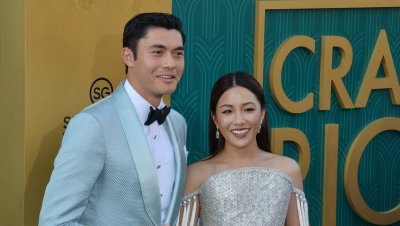 """Henry Golding and Constance Wu attend the """"Crazy Rich Asians"""" premiere in Los Angeles"""