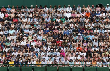 Second day at Wimbledon Tennis Championships