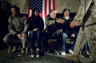 USO Holiday Tour in Iraq