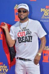 DJ D-WREK attends the MTV Movie & TV Awards in Santa Monica, California