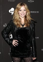 "Dreama Walker arrives on the red carpet for ""The King's Speech Premiere at the Ziegfeld Theater in New York"