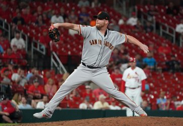 San Francisco Giants pitcher Will Smith