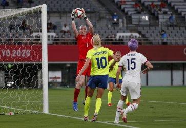 USA vs Sweden Women's Football at Tokyo Olympics