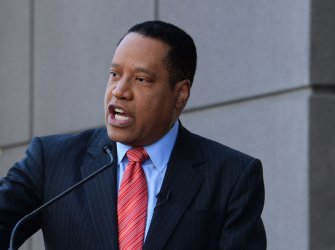 Larry Elder honored with star on Hollywood Walk of Fame in Los Angeles