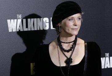 Melissa McBride arrives at The Walking Dead' Premiere