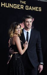"""Liam Hemsworth attends """"The Hunger Games"""" premiere in Los Angeles"""