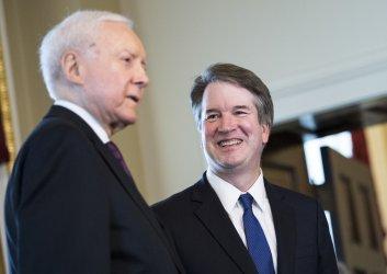 Sen. Hatch meets with Surpeme Court Nominee Brett Kavanaugh in Washington, D.C.