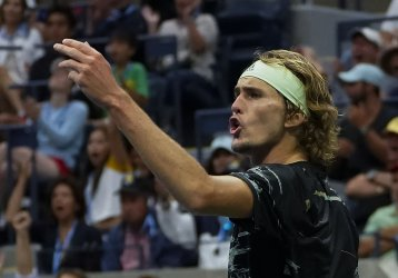 Alexander Zverev, of Germany, loses at the US Open