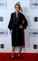 Ellen Pompeo backstage at the 42nd annual People's Choice Awards in Los Angeles