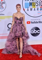 Halsey attends 46th annual American Music Awards in Los Angeles