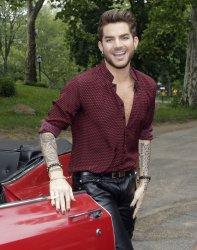 Adam Lambert performs on the Good Morning America