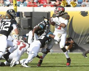 Tampa Bay Buccaneers versus the Jacksonville Jaguars