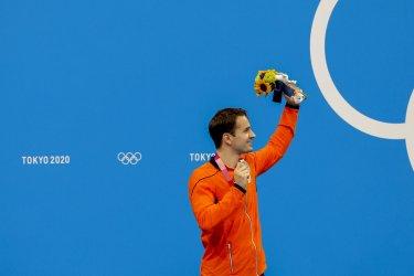 Amo Kamminga Netherlands Silver Medal Winner at the Tokyo Olympics