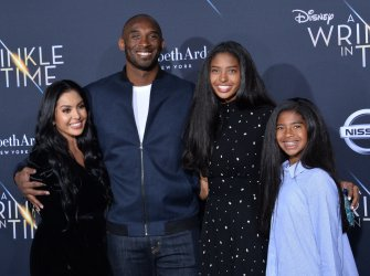 """Kobe Bryant wife and daughters attend the premiere of """"A Wrinkle in Time"""" in Los Angeles"""