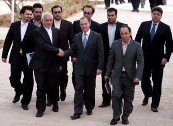 Iran's Bushehr nuclear power plant in Bushehr Port