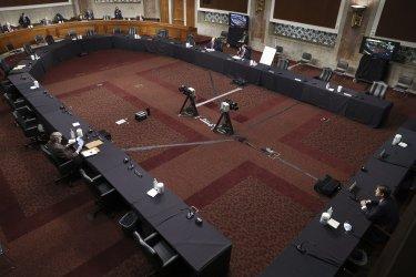 Justin Walker testifies before Senate Judiciary Committee on DC Circuit judge in Washington