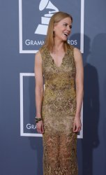 Nicole Kidman arrives at the 55th annual Grammy Awards in Los Angeles