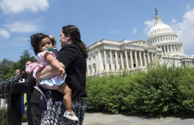 Press Conference on ending family separation in Washington, D.C.