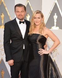 DiCaprio and Winslet arrive at the 88th Academy Awards