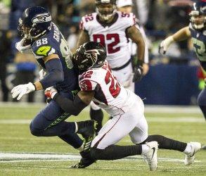 Seattle Seahawks Atlanta Falcons beat the Seattle Seahawks 34-31 in Seattle