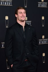 Chargers' Joey Bosa arrives at the NFL Honors at Super Bowl LIII in Atlanta
