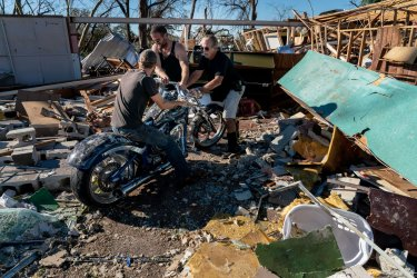 Cleanup after Hurricane Michael Slams Into Florida's Panhandle