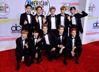 NCT 127 attends 46th annual American Music Awards in Los Angeles