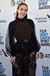 Zoe Kazan attends Film Independent Spirit Awards in Santa Monica