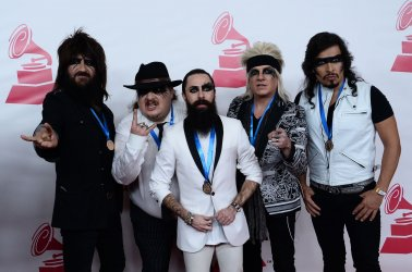Moderatto attends Person of the Year tribute in Las Vegas