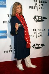 "Lauren Hutton arrives for the Tribecal Film Festival Premiere of ""The Union""  in New York"