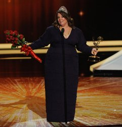 Melissa McCarthy garners outstanding lead actress in a comedy series award at the 63rd Primetime Emmy Awards in Los Angeles
