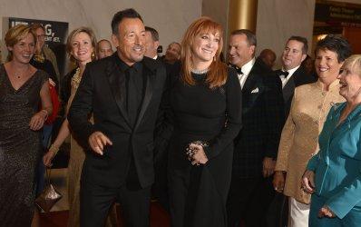 Bruce Springsteen and Patti Scialfa arrive for Kennedy Center Honors Gala in Washington DC