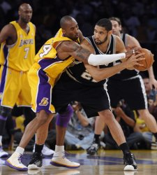 Los Angeles Lakers vs San Antonio Spurs Game 2 of the Western Conference finals in Los Angeles