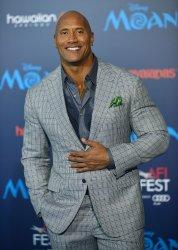 Dwayne Johnson attends 'Moana' world premiere
