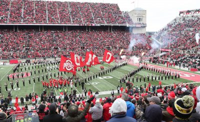 The Buckeyes take the field against the Terrapins