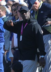 Michael Jordan at the Ryder Cup 2018