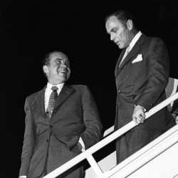 Pres. Nixon with Alexander Haig, the new Chief of Staff