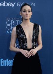 Emmy Rossum attends the Critics' Choice Awards in Santa Monica